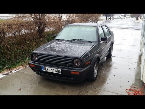 91 Voltswagon Jetta 1.6 Diesel Tensioning Bolt Fix