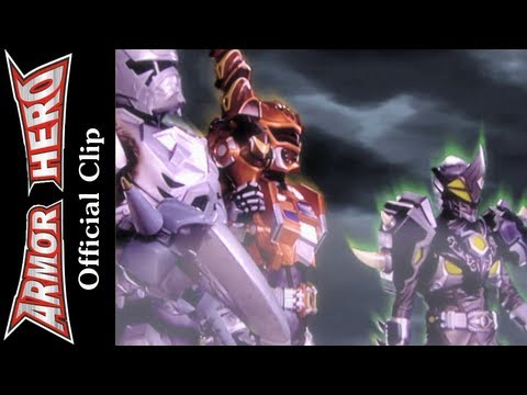 Armor Heroes Fights with Monsters – Official English Clip  [HD 公式] – 79