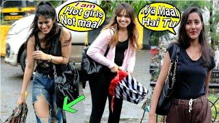 Cute girl asking Kaise fatty Teri | prank on cute girls | call crash prank | call clash prank  | BRB
