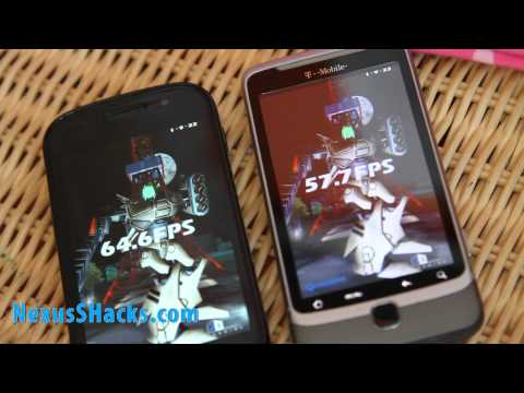 Nexus S vs. G2 Phone - Overclocked CyanogenMod 7 Battleout!