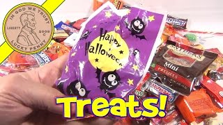 Halloween Trick Or Treat Bounty 2012   Strange Cracker Jack Box!