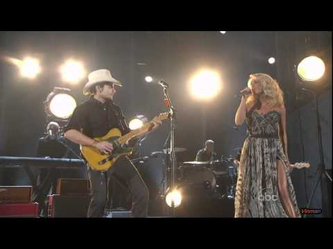 Carrie Underwood & Brad Paisley - Remind Me 2011 CMA HD