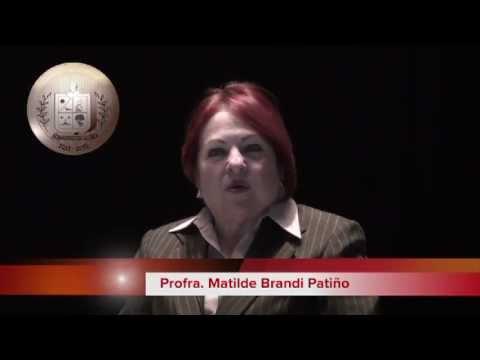 """Matilde Brandi Patiño, Presea al Mérito Ciudadano """"Francisco de Barbadillo y Vitoria"""" 2013"""