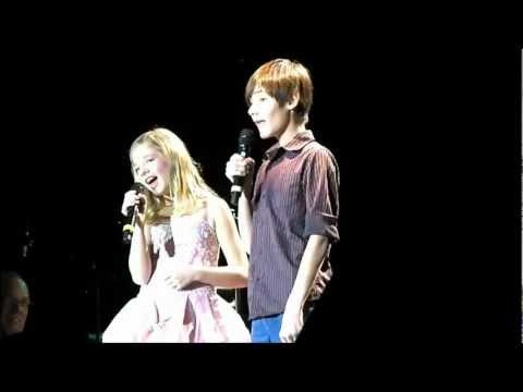 Let It Be - Jackie and Jacob Evancho Duet (Ver2)