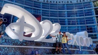 D23 Expo 2019! The Ultimate Disney Fan Convention in Anaheim | Full Opening Day Experience!