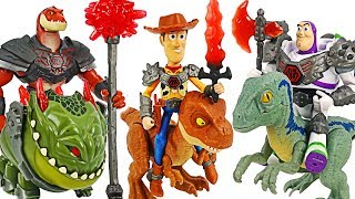 Toy Story That Time Forgot battle armor! Defeat dinosaurs with the Incredible Family! #DuDuPopTOY
