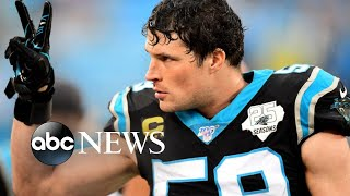 Carolina Panthers star retires from NFL l ABC News