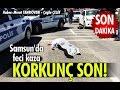 Samsun'da feci kaza: Korkunç son!