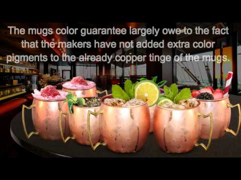 Buxxu Stamps Its copper Mugs with a lifetime color guarantee