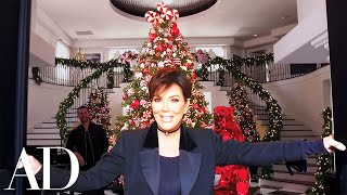 Kris Jenner On Her Kardashian-Jenner Family Christmas Holiday Décor | Architectural Digest