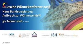 SHK-TV Nachrichten: Deutsche Wärmekonferenz in Berlin