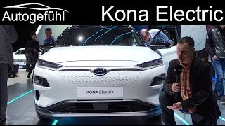 Hyundai Kona Electric REVIEW (Kauai)  - Autogefühl