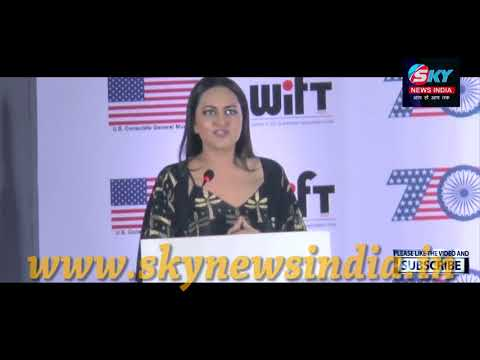 Actress Sonakshi Sinha At Short Film Festival Based On Women Safety Empowerment
