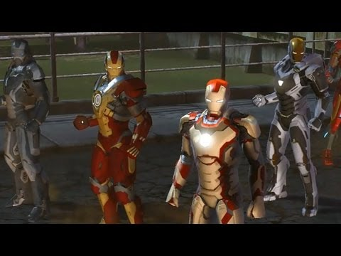 CGR Trailers - MARVEL HEROES Iron Man 3 Special Suits Trailer