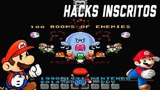 Salas de Inimigos, Novo Mario Retro e mais - SMW Hacks Inscritos