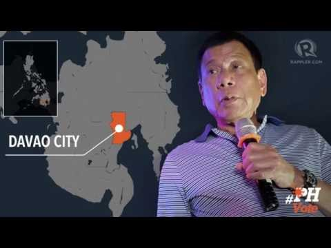 WATCH: Duterte reacts to his lead in election results