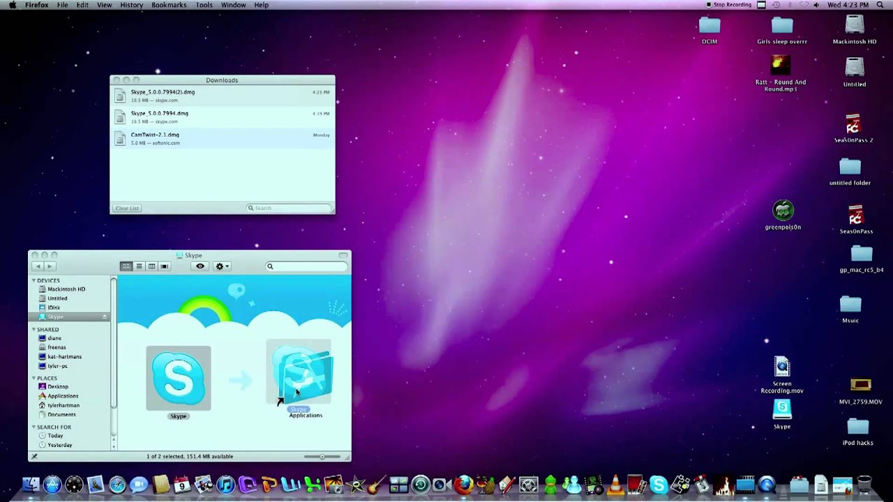 how to download skype on mac pro
