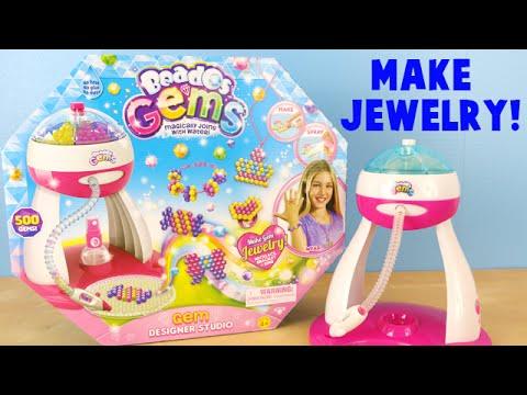 Beados Gems Designer Studio - DIY Make Your Own Gem Jewelry Set