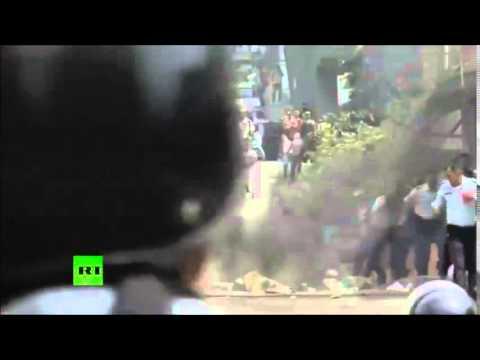 Protest Movement Anniversary turns Violent in Venezuela