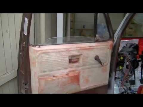 PART 1 CHEVY C10 DOOR REPAIR   73-87 Squarebody Truck