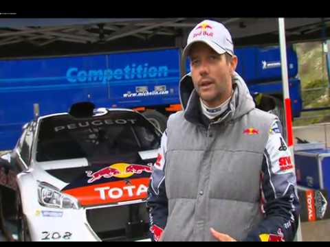 Interview Sebastien Loeb France Television Sport - 208 T16 Pikes Peak