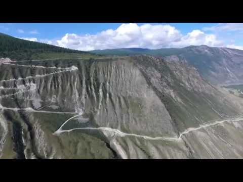 Горный Алтай. Перевал Кату-Ярык с DJI Phantom 4