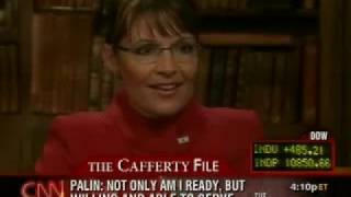 Jack Cafferty Not Letting Up On Sarah Palin