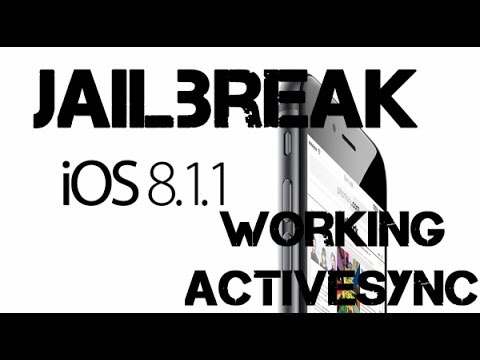 New Jailbreak 8.1.2 Untethered TaiG iOS 8.1.2 ActiveSync iPhone 6 Plus.6 5S. 4S.iPod 5. iPad Mini
