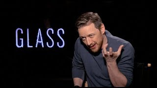 GLASS movie interviews - Shyamalan, McAvoy, Samuel L. Jackson, Paulson, Taylor-Joy