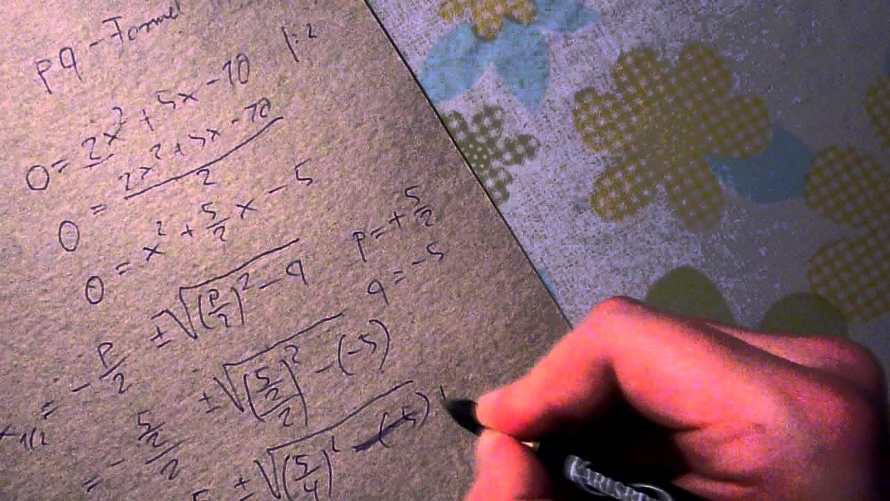 Quadratische funktionen scheitelpunkt berechnen online dating 3