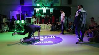 Pro Battle \\ Vorsprung durch Technik Team vs  Passion Rockers \\ Get Funky Vol  II Funky Kidz BC