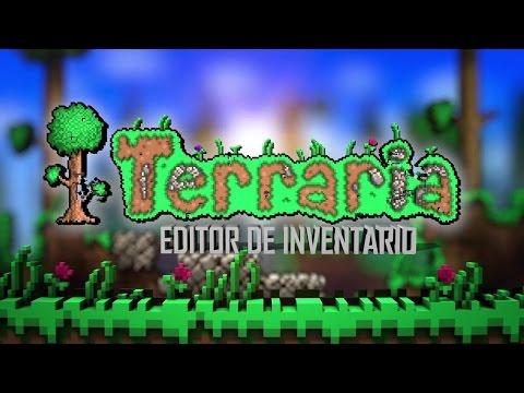 Terraria Editor de Inventario/ Terraria Inventory Editor!!