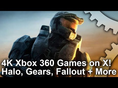 4K Xbox 360 Games Tested on Xbox One X! Halo 3, Gears 3, Fallout 3, Assassin's Creed + More