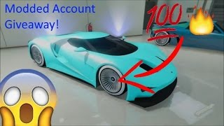 GTA 5 - Modded Account Giveaway (CLOSED)
