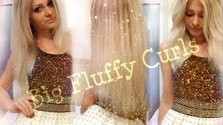 Glamorous Party Hair - Soft Curls Tutorial