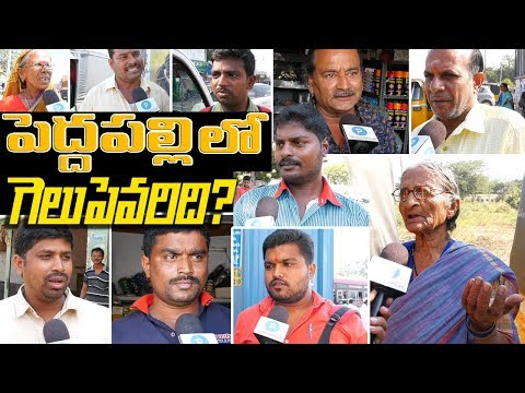 Praja Naadi at #Peddapally  | Who is going to win ? How are KCR Schemes | Political Survey