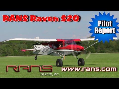 RANS S20 Raven pilot report by Dan Johnson - Part 1
