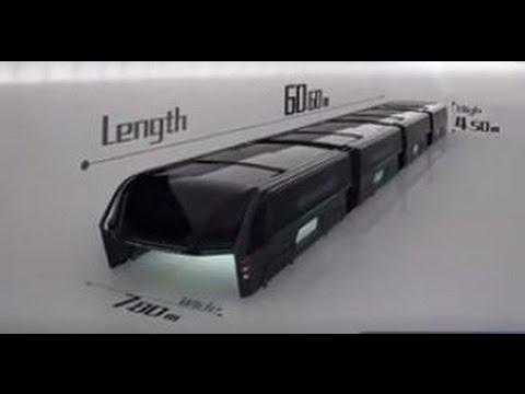 Автобус метро в Китае через 5 лет - новые технологии
