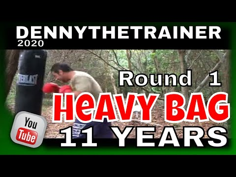 Learn how to train with the Heavy Bag Round 1 with Dennythetrainer Image 1
