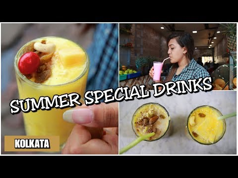 Places To Have Summer Special Drinks In Kolkata | Street Food In Kolkata #3| Paramount & More| India