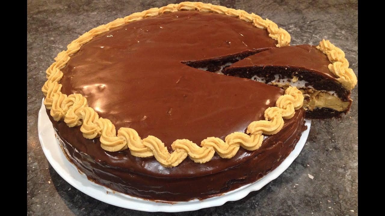 Торт сникерс рецепт в домашних условиях без безе