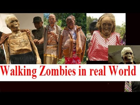 Walking zombies in real world