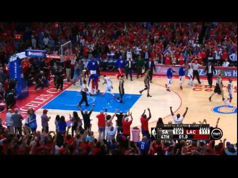 Chris Paul's series-winning shot vs Spurs!! - Game 7 - Incredible!