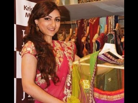 Launch Of HUE Fashion New Collection With Soha Ali Khan