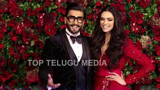 Ranveer and Deepika wedding Reception || Top telugumedia