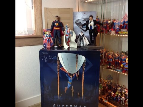 My 34th Birthday Haul!!!! Superman Collectibles Galore!