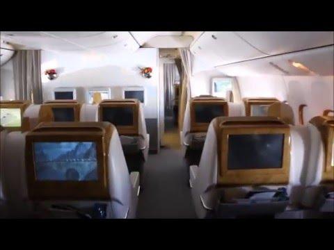 Emirates Boeing 777 200LR, Dubai - Oslo in Business Class