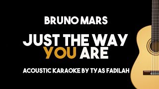 Just The Way You Are Bruno Mars Acoustic Guitar Karaoke