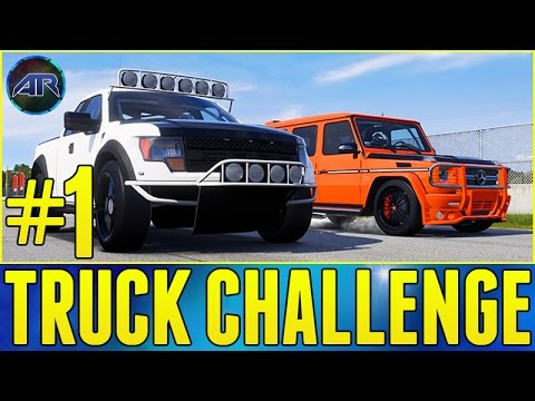 Forza 5 : Top Gear Challenge - BEST TRUCK CHALLENGE (Part 1)