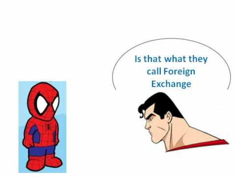 Fixed Exchange Rate featuring Superman and Spiderman